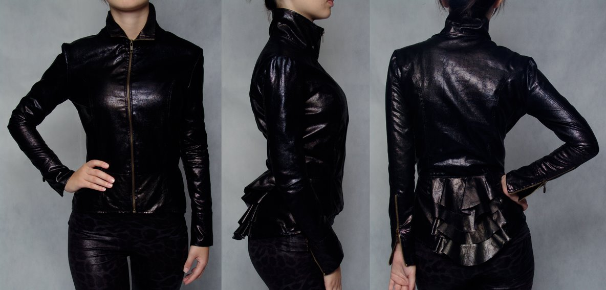 Jaquetas de couro femininas 2015 http://www.cantinhojutavares.com